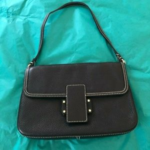 NEW WOMENS KATE SPADE (PXRU0093) BLACK LEATHER bag